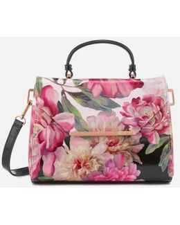 Petall Painted Posie Small Lady Bag