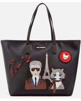 Women's K/paris Shopper Bag