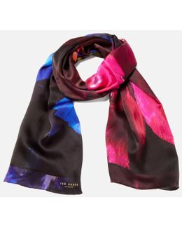Ivian Impressionist Bloom Long Scarf