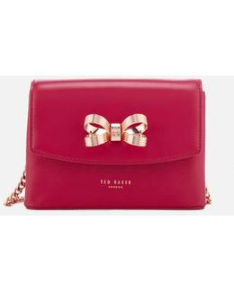 Leorr Looped Bow Mini Cross Body Bag