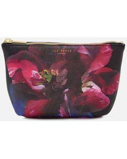 Leaa Impressionist Bloom Makeup Bag