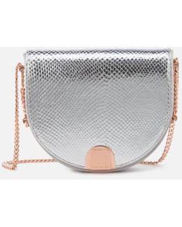 Annii Mini Exotic Detail Moon Bag