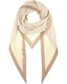 Summer Twice Cashmere And Silk-blend Triangle Scarf