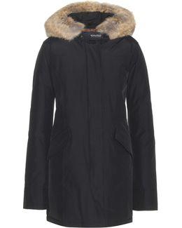 Arctic Coat With Fur Trim