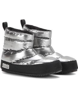 Macdougal Metallic Ankle Boots