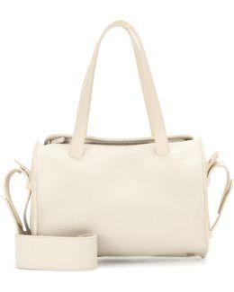 Drum 10 Pebbled-leather Shoulder Bag