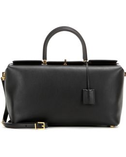 India Medium Leather Shoulder Bag