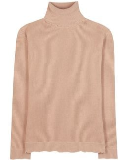 Roll-neck Wool And Cashmere-blend Sweater