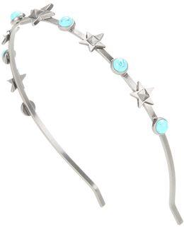 Garavani Silver-toned Hairband