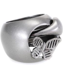 Garavani Snake Butterfly Chevalier Ring