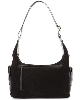 Corte Day Suede And Leather Shoulder Bag