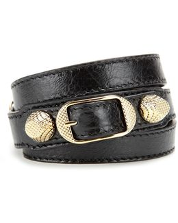 Giant Leather Bracelet