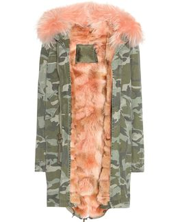 Cotton Parka With Fur Lining