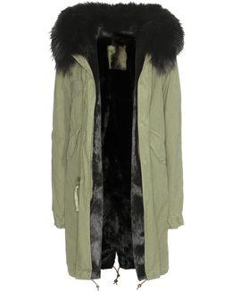 Fur-lined Parka With Fur-trimmed Hood