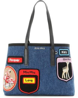 Tote With Appliqué