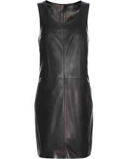 Exclusive To Mytheresa. Com – Racer Zip Leather Mini Dress