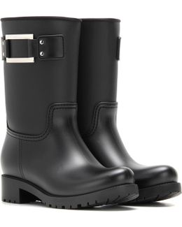 Embellished Rubber Boots