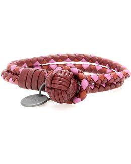 Knot Intrecciato Leather Bracelet
