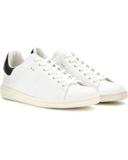 Toile Bart Leather Sneakers