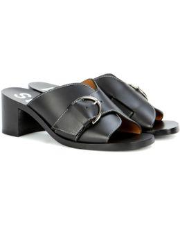 Vikki Leather Sandals
