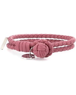 Knot Woven Leather Bracelet