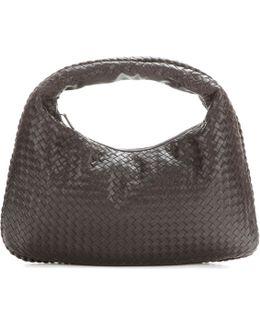 Large Veneta Intrecciato Leather Tote