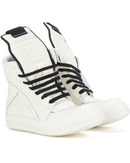 Geobasket Leather High-top Sneakers