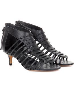 Allison Leather Sandals