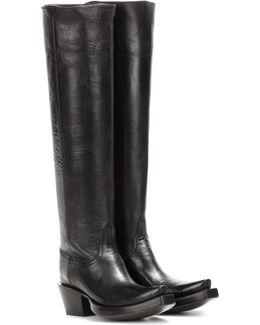 X Lucchese Bootmaker Leather Boots