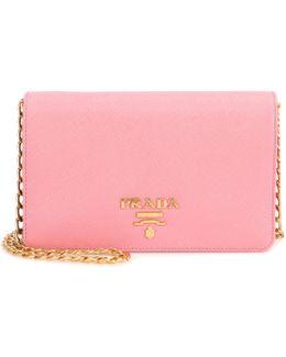 Galleria Saffiano Lux Small Shoulder Bag