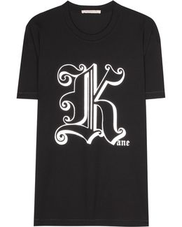 Gothic K Cotton T-shirt