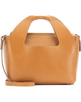 Two For One Leather Handbag