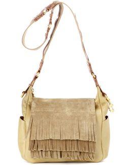 Beaty Day Leather Shoulder Bag