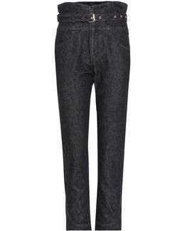 Evera Belted Jeans