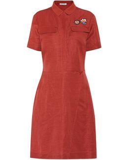 Linen Utility Dress