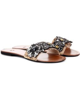 Italo Embellished Sandals