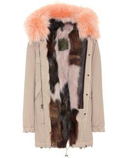 Parka Fur-lined Cotton Coat