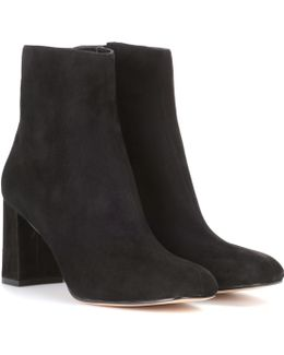 Agnes Suede Ankle Boots