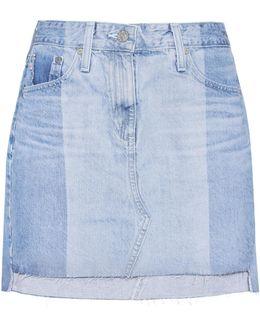 The Sandy Denim Miniskirt