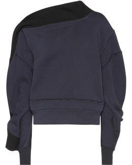 Asymmetric Jersey Sweatshirt