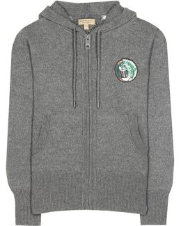 Chienti Wool And Cashmere Knitted Hoodie