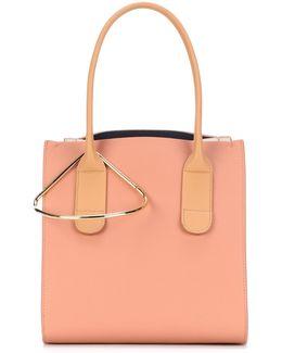 Mini Weekend Leather Shoulder Bag