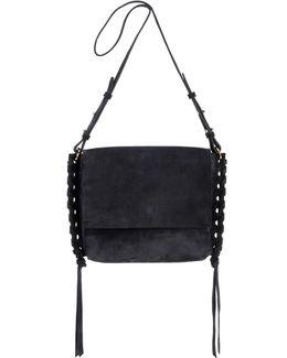 Asli Suede Shoulder Bag