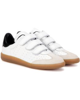 Toile Beth Leather And Suede Sneakers