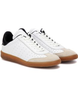 Toile Bryce Leather Sneakers