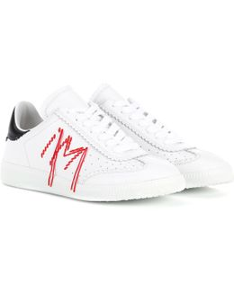 Bryce Leather Sneakers