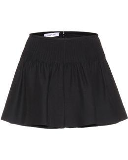 Wool And Silk Shorts