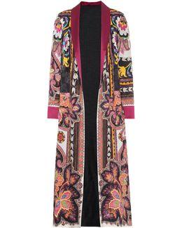 Printed Jacquard Robe