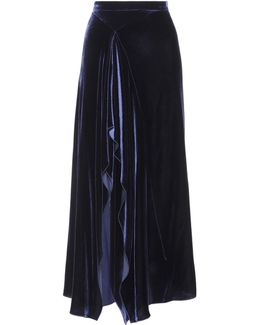 Haxby Velvet Skirt