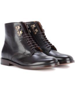 Frances Leather Boots